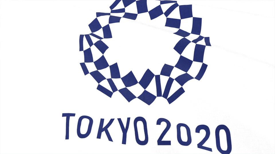 Tokyo Olympics 2020 Waving Flag 東京オリンピックエンブレム国旗 - 1080 HD ...