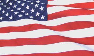 USA Waving Flag